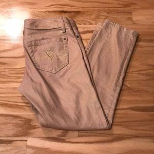 Lilly Pulitzer worth skinny mini jeans size 6